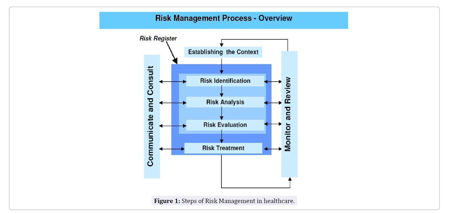 Steps in the Process of Risk Management in Healthcare